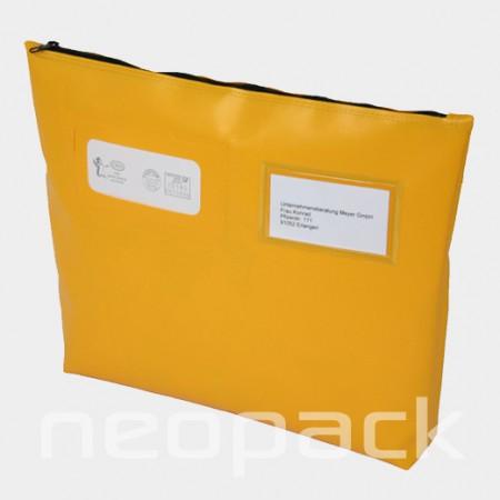 Posttasche mit Bodenfalte